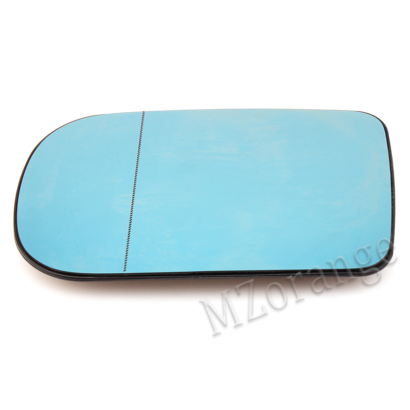 Side Mirror Glass Heated Blue Aspherical RIGHT Fits BMW 7 Series E38 1994-2001