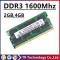 Продажа pc3-12800 ddr3 ram 4 ГБ 2 ГБ 1600 МГц so-dimm ноутбук, памяти ddr3 1600 sdram мГц 4 ГБ pc3-12800s ноутбук ddr3 1600 мГц 4 ГБ dimm