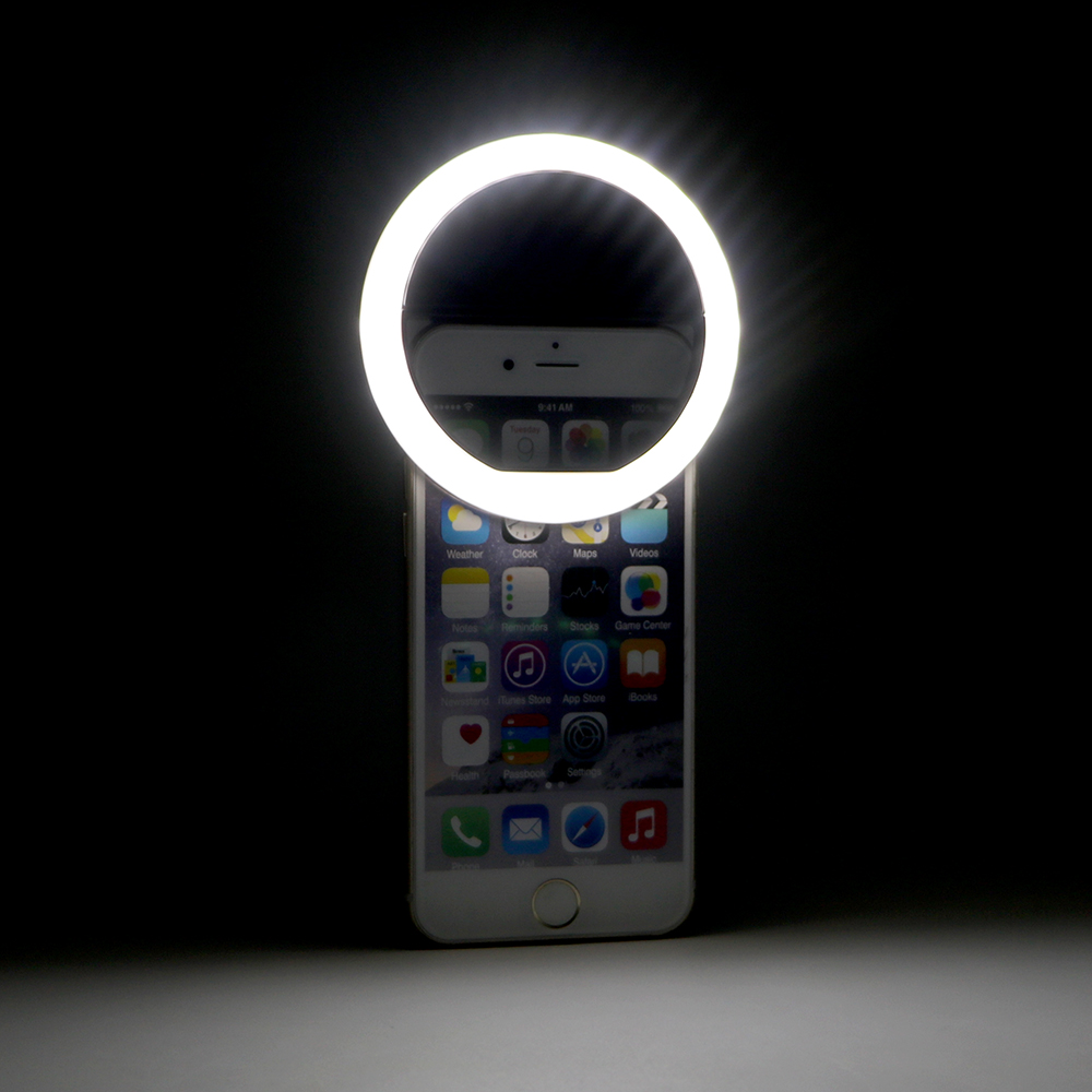 Mini USB Rechargeable Portable Cell Phone Camera Fill Light 36 Leds For iPhone IOS Android Smartphone LED Flash Fill Light smartphone