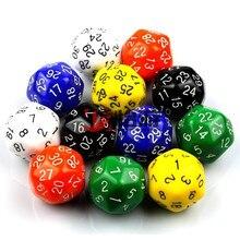 30 боковых костей с перламутровым эффектом D30 набор костей для ролевой игры кубик для настольной игры