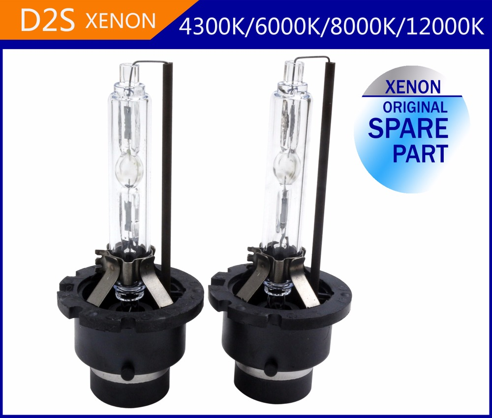 Free shipping 2pcs/lot 12V 35W D2S xenon bulb Original Design With metal base HID car headlight D2C 4300k 5000k 6000k 8000k with original box 1pcs d2r oem original hid d2r xenon bulb for cars 4300k 5500k warm white cold white