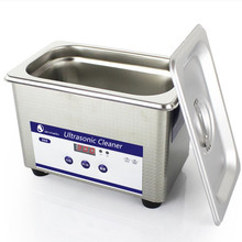 Skymen 800ml Ultrasonic Cleaner Bath Ultrasound Machine for Jewelry Dental Parts Tools Timer