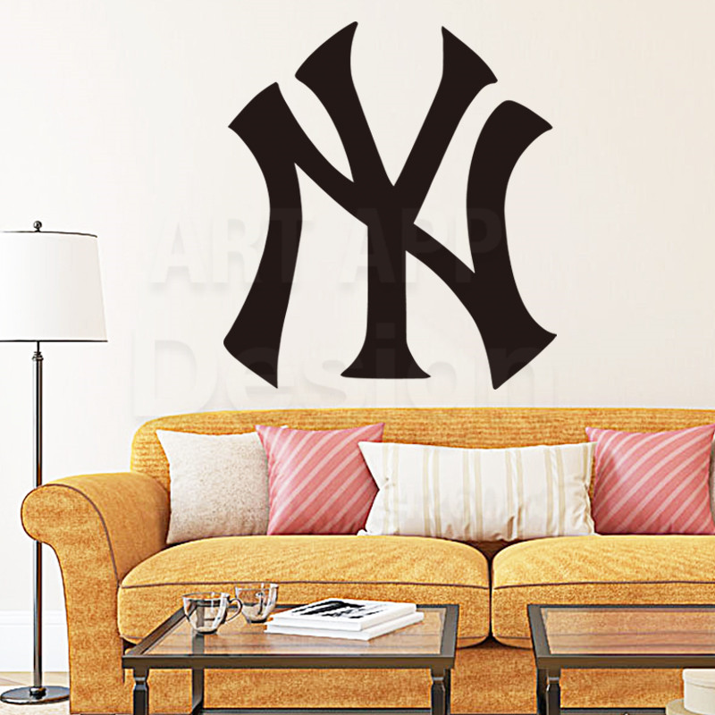 New York Yankees Home Decor: Art New Design House Decor Vinyl Yankees Baseball Logo