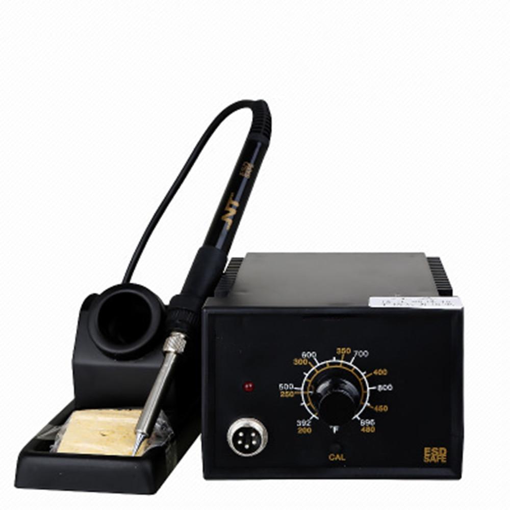 Термостатический паяльная станция Регулируемая Температура интеллектуальный контроль температуры электронный Ремонт паяльная станция