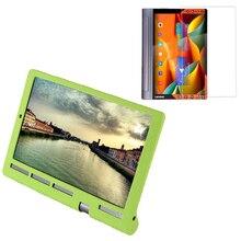 1x Screen Protector , Luxury Ultra Slim Waterproof Soft Silicone Shell Case Cover For Lenovo Yoga Tab 3 10 Pro X90F TB3-X90F/M/L
