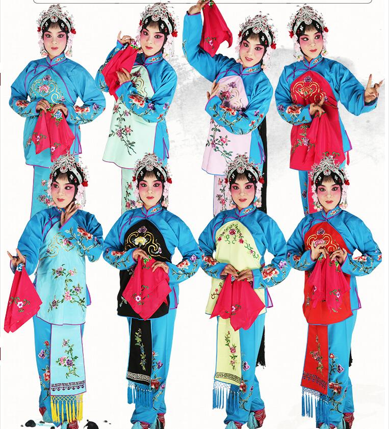 Peking Operas Stage Outfit Womens costumes operas Lady girls clothing Chinese Traditional Beijing Opera Dramaturgic Costume