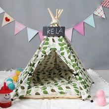 JORMEL палатка для домашних питомцев, кровать для собак, кошек, игрушечный домик, портативная, моющаяся, с полосками, модная, 2019, с ковриком