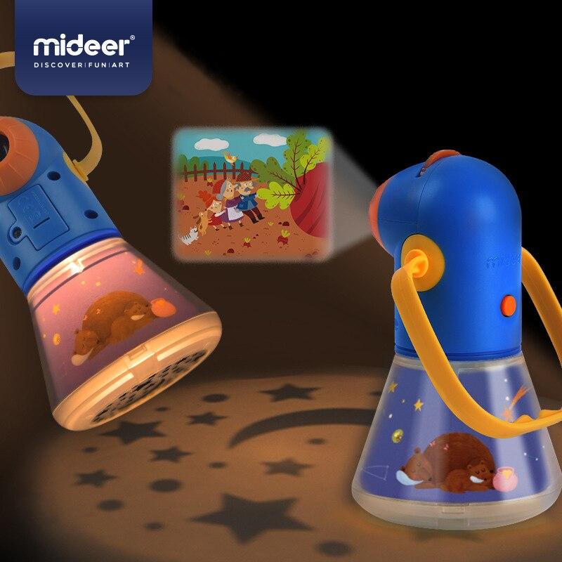Micerf mise à niveau enfants Storybook torche enfants multi-fonction histoire projecteur ciel étoilé sommeil lumière bébé jouet veilleuse 3Y +