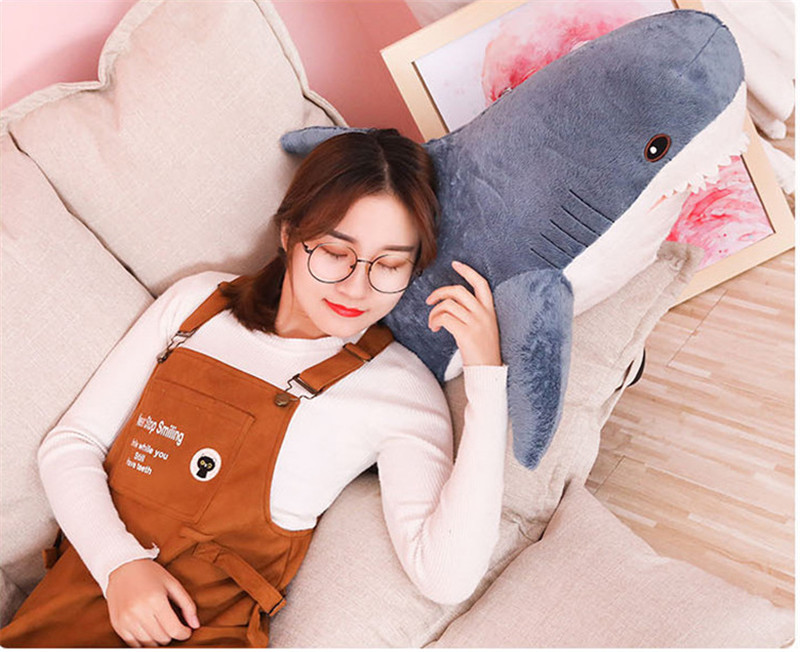 plush toy stuffed toy shark children's toys boy cushion girl animal reading pillow pillow birthday Christmas gift 8