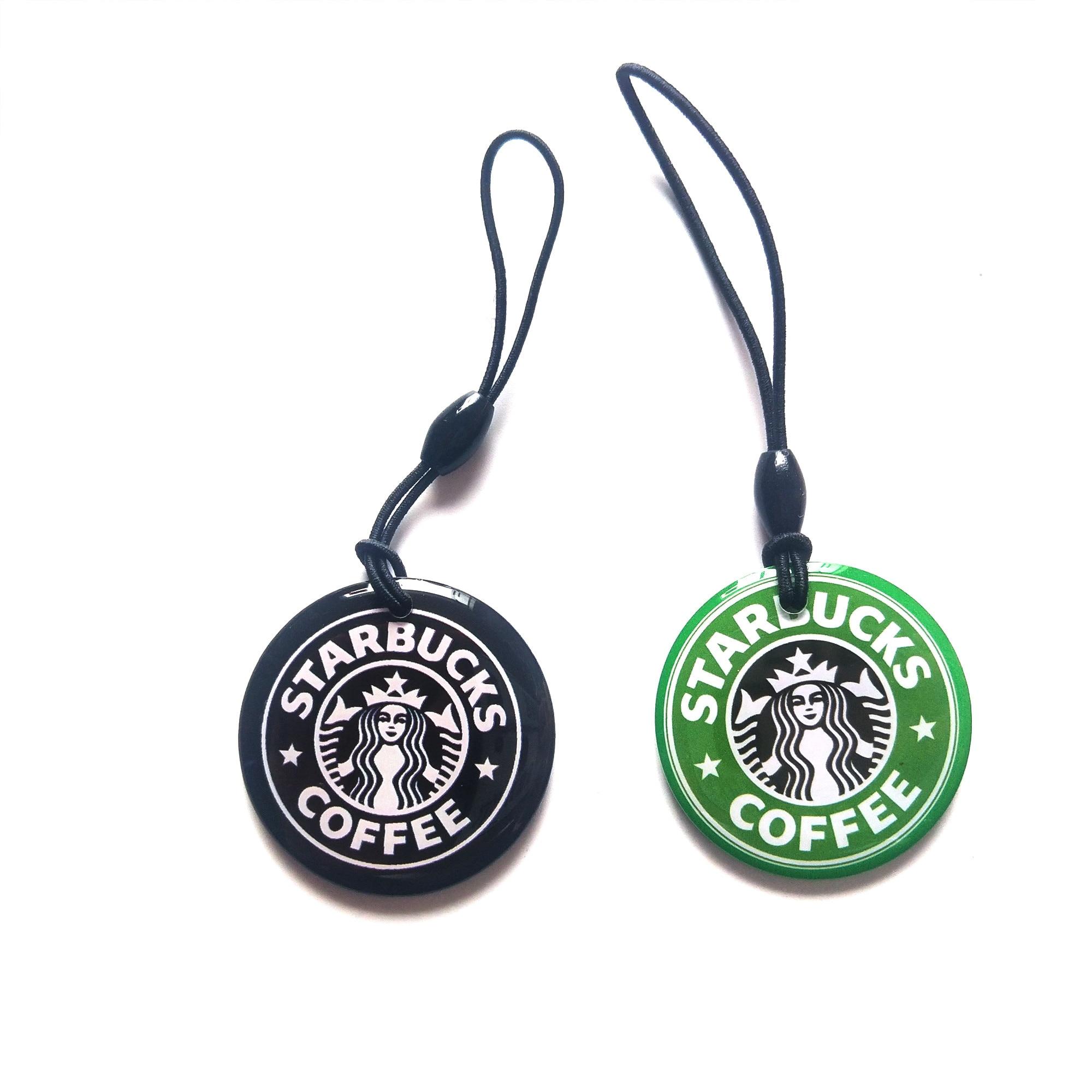 1Pcs T5577 RFID Rewritable Cartoon Keyfobs Duplicator Badge