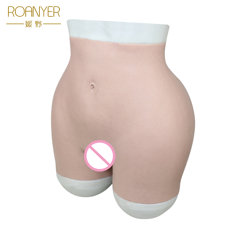 Roanyer Crossdressing hip enhancer silicone Mutandine e boxer Trascinare Queen Trans crossdresser Transgender Sexy glutei Biancheria Intima Morbida