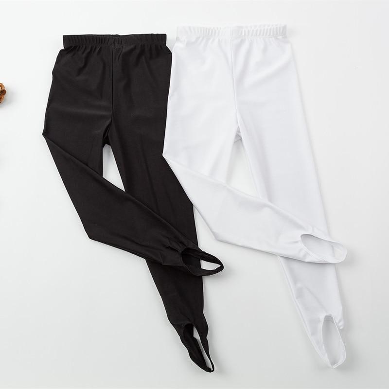 Ballet Stirrup Tights For Girls Kids Dance Socks Spandex Gymnastics Dance Fitness Pants Children Casual Ballet Pantyhose