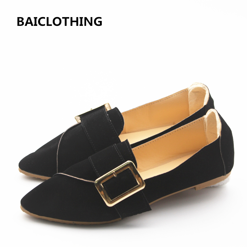BAICLOTHING zapatos de mujer women fashion spring & summer slip on flat shoes lady light weight black flats female cute shoes cresfimix women fashion blue striped summer slip on canvas flat shoes lady cute spring flats female cloth dance shoes zapatos