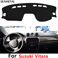 For LHD Suzuki Vitara 4th 2015 2016 2017 Car Dashboard Carpet Protective Pad Decoration Supplies Auto Accessories Car Styling