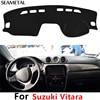 For LHD Suzuki Vitara 4th 2015 2016 2017 Car Dashboard Carpet Protective Pad Decoration Supplies Auto Accessories Car Styling