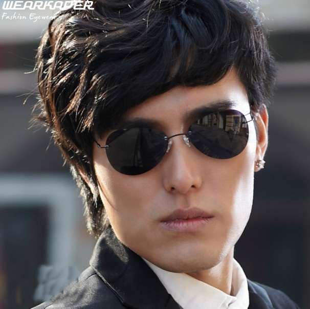 34d504ff123 morpheus sunglasses Newest Rimless Classic Sport glasses font b Matrix b  font Morpheus font b Sunglasses b font morpheus sunglasses A113 Model  Classic Round ...