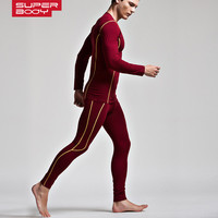 New Hot Autumn Winter Thermal Underwear For Men Breathable Elastic Compression Warm Long Johns Male Casual Thermo Underwear Set