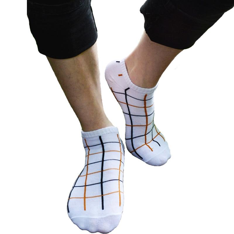 Muži Ponožky Ponožky Móda Léto Nový design Pohodlné Stealth Silné Linky Krátké ponožky Zdraví Bavlněné deodoranty Muži Ležérní ponožky