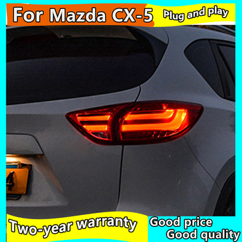 Car Styling for Mazda CX-5 Tail Lights 2013-2018 CX-5 LED Tail Lamp CX5 LED DRL Signal Brake Reverse auto Accessories