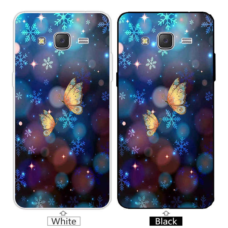 Cho Coque Samsung Galaxy Đại Prime G530 G530H Màu Xanh Bìa Silicone Cho Samsung Đại Prime G530Y G530FZ G531 Trường Hợp Điện Thoại
