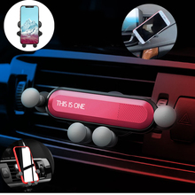 Gravity Car phone Holder Car Air Vent Mount Holder Mobile Phone Stand Universal Smartphone Cell phone Support