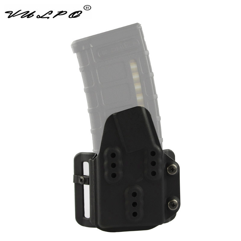 VULPO Military Tactical Kydex AR Mag Carrier 5.56mm Magazine Pouch For Belt System