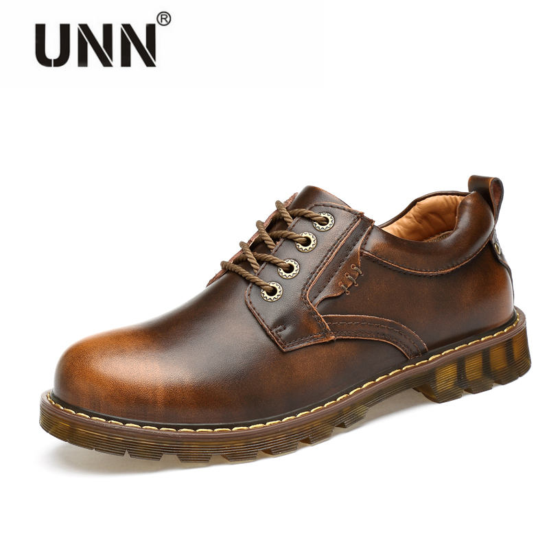 2017 NEW genuine leather shoes British style casual shoes men Business suits lace-up shoes Work boots men Non-slip Dress shoes zdrd new fashion genuine leather men business casual shoes british low top lace up suede leather mens shoes brown red men shoes