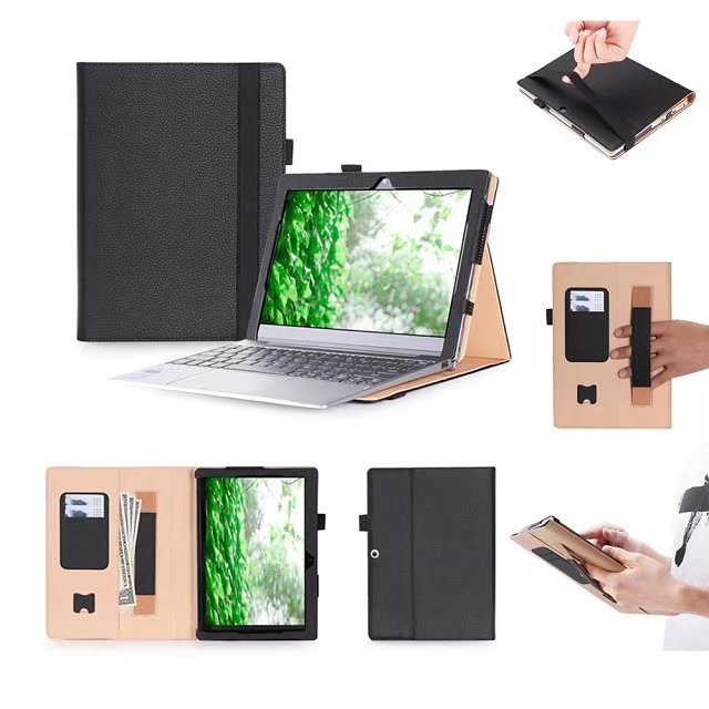 For Lenovo Miix 320 Tablet Keyboard Case For Lenovo Ideapad Miix 320 10.1 inch Leather Cover Cases Wallet Case hand holder +fil