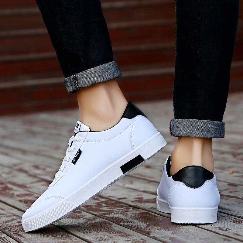 Printemps En Plein De blanc Air Course Casual Mode Arrivée up Dentelle Toile Sneakers Confortable Hommes Noir Chaussures Nouvelle Respirant 2019 Appartements bleu SaqqYBZw