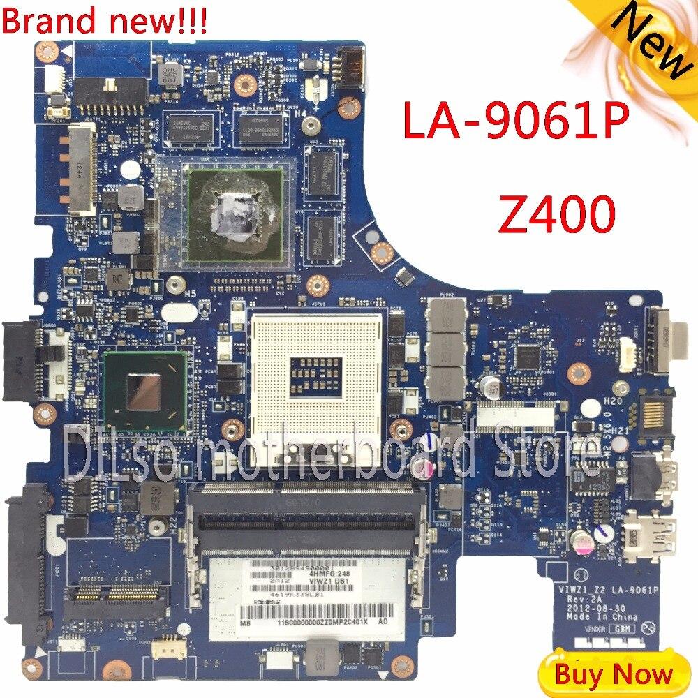 KEFU LA-9061P For Lenovo Z400 laptop motherboard VIWZI-Z2 LA-9061P Z400  PM original motherboard Test free shippingKEFU LA-9061P For Lenovo Z400 laptop motherboard VIWZI-Z2 LA-9061P Z400  PM original motherboard Test free shipping