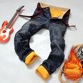 HOT 2016 caliente jeans brand jeans hombres jeans otoño invierno cálido acuden cálido terciopelo Dorado suave lana hombres número de los pantalones vaqueros más el tamaño