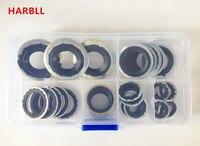 Juntas HARBLL 28 PCS compressor de ar condicionado automotivo, R134a Carro ar condicionado compressor caixa de reparação
