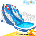 New Design l Inflatable Water Slide with Pool Inflatable Pool Slide for Adults and Kids