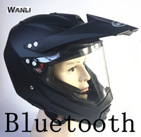 Bluetooth Helmet Interphone Support Stereo Motocross Helmet Off Road Moto Casco Capacete Cross Motocicleta Helmets Hilldown