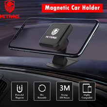Metrans Universal Car Holder 360 Degree Magnetic Phone Stand GPS Magnet Mount For Mobile telefon tutucu