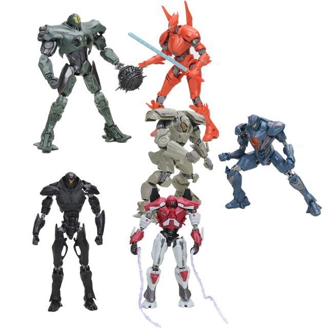 Estilos de 15 8 cm NECA Pacific Rim GIPSY ATHERNA SABRE VINGADOR BRACER PHOENIX REDENTOR TITAN PVC Action Figure Model Collection brinquedo
