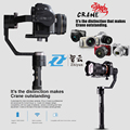 Zhiyun Crane Professional 3 Axis Camera Stabilizer Handheld Gimbal for Sony A7 Series Panasonic Lumix Canon Nikon ILDC Cameras