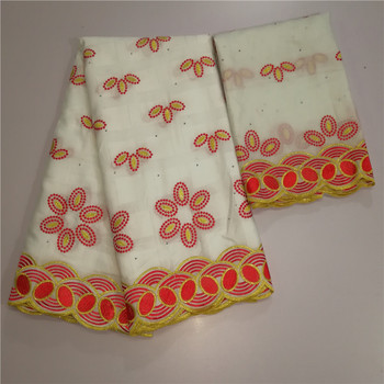 African Cotton Swiss Voile Lace Fabric High Quality With Stones Swiss Voile Lace In Switzerland African Lace for dress yc11-30