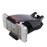 Supporto Del Telefono dell'automobile Supporto Regolabile Clip di Auto Morbido Anti Slip Supporto Del Telefono Mobile Supporto GPS Per iPhone Samsung HTC Huawei 3.0