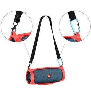 Image 1 - 100% Marka Yeni Silika Jel Seyahat Silikon çanta kılıfı Durumda JBL Şarj 4 Chareg4 Taşınabilir Su Geçirmez kablosuz bluetooth Hoparlör
