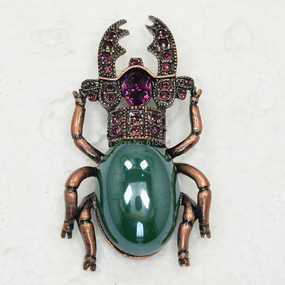 Amethyst Crystal Rhinestone Faux Turquoise Beautiful ...