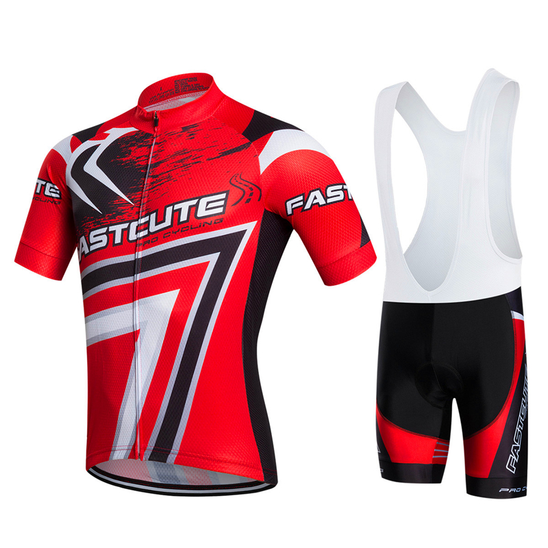 FASTCUTE Brand 2017 100% Polyester Mountain Bike Clothing Racing Bicycle Clothes Maillot Ropa Ciclismo Mans Cycling Jersey Set siilenyond farfax summer cycling clothing mountain bike jersey ropa ciclista hombre maillot ciclismo racing bicycle clothes set