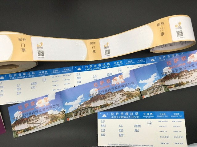 Thermal ticket roll,travel tickets,movie ticket,paper ticket - printable ticket paper