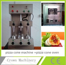 Free Shipping Catering Equipment Popular in Young people 3 moulds Ice cream pizza cone machine+pizza cone oven with CE