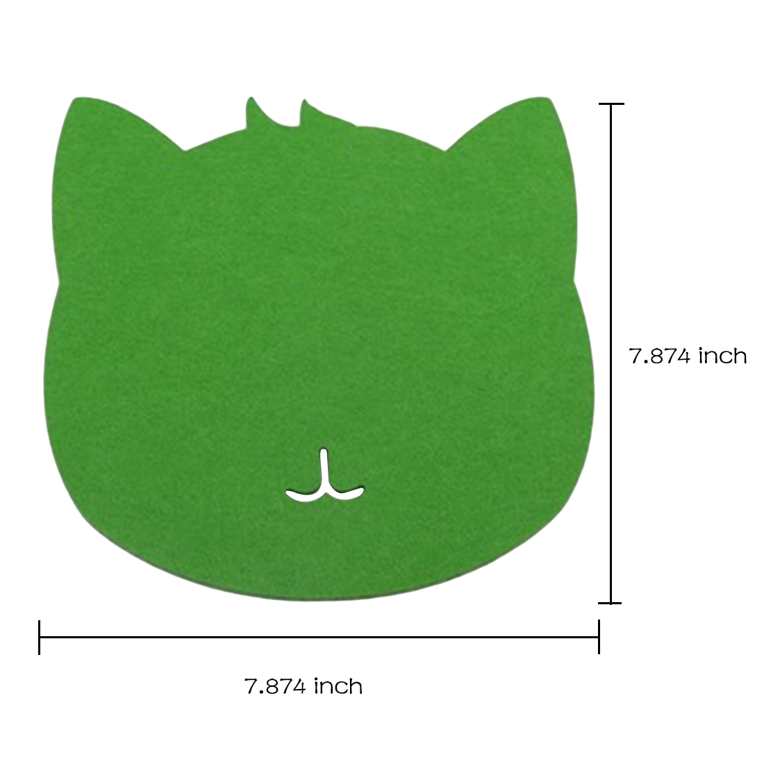 Computer Peripherals Optical Trackball Pc Thicken Mouse Pad Felt Cloth 220*220*3mm Universal Cute Cat Mousepad Mat For Laptop Computer Tablet Pc