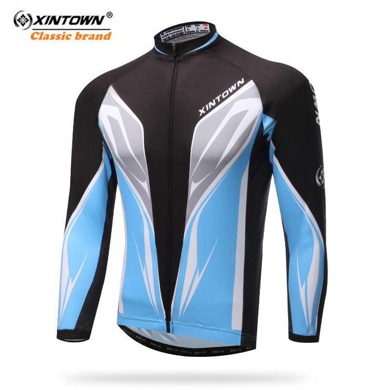 0a444ed28 XINTOWN Cycling Jersey Long Sleeve Pro Team Racing Sport Cycling Clothing  mtb Bicycle Jersey Autumn Mountain Bike Jersey Shirts-in Cycling Jerseys  from ...