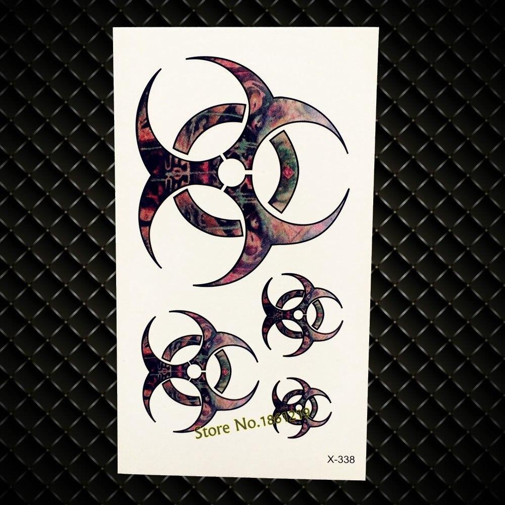 Henna Heart Love Keys Waterproof Black Temporary Tattoo Fake Flash Tattoo Stickers GH108 Lace Key Tattoo Body Arm Jewel Sticker