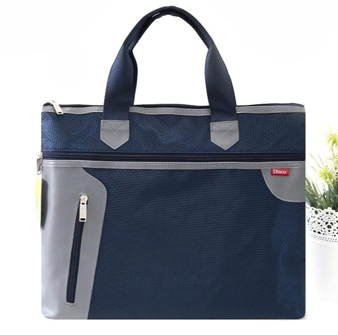New double layer casual fashion business briefcase bag large capacity document file bag file organizer office school supplies dumei a4 a5 b6 double deck portable snap document bag file pocket with double zipper office school supplies nf 633