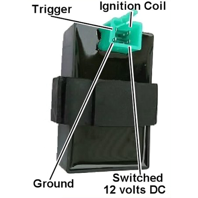 Knight 4 Pins Prongs DC CDI Rev Box Ignition For 125cc 150cc 200cc 250cc 300cc Atv Scooter Go