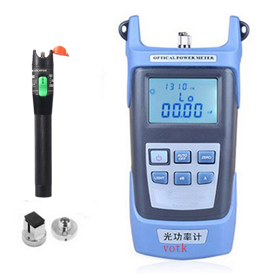 Compteur de puissance optique tenu dans la main de fibre 30 mw stylo de source de lumière rouge testeur de câble optique de Fiber localisateur visuel de défaut de Laser,